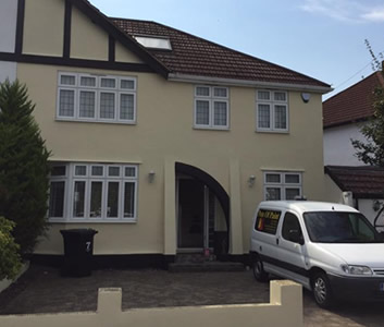 Exterior painters and decorators Maidstone Kent and East Sussex including Tunbridge Wells, Tonbridge, Sevenoaks,  Ashford,  Rochester, Sittingbourne
